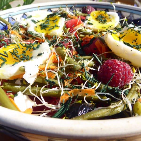 Recette Salade des Champs